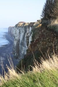 Les falaises du littoral cauchois