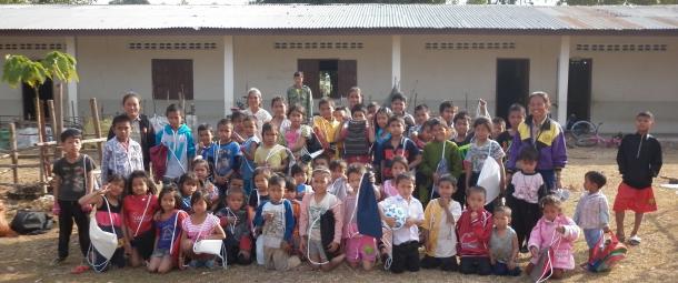 Projet solidaire au Laos avec l