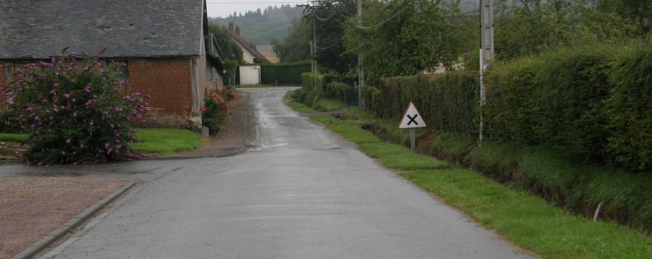 Étude de la capacité des fosses à Bailleul-Neuville