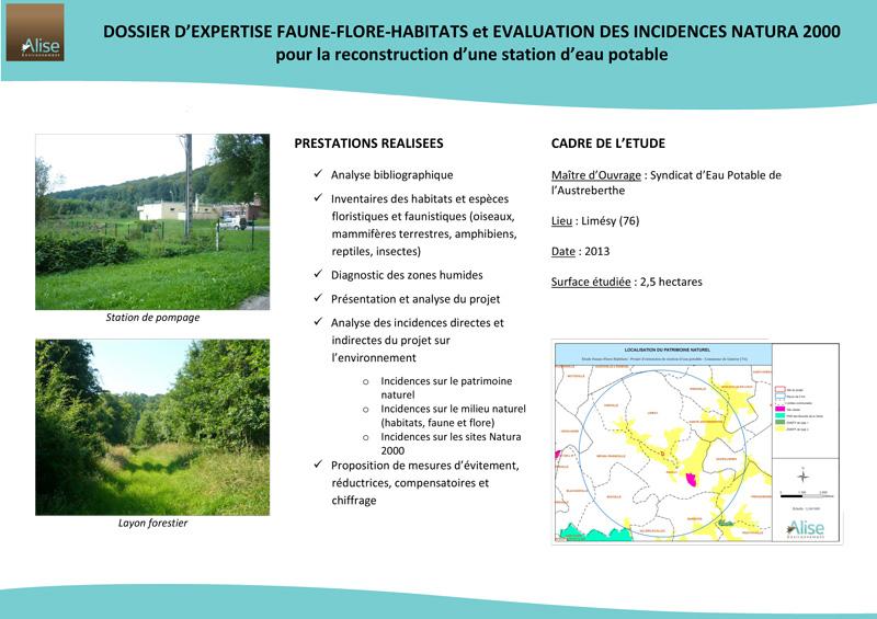 Faune Flore ALISE Environnement Bureau dtudes