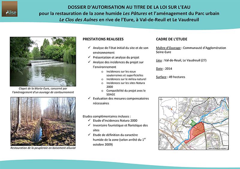 Dossier loi sur leau ALISE Environnement Bureau dtudes